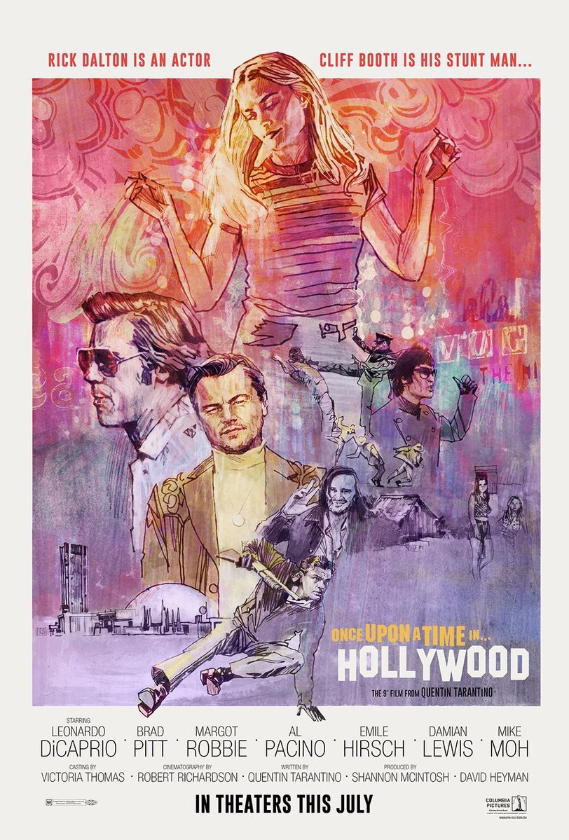 Once Upon A Time In Hollywood 2019 Review Keeping It Reel